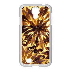 Mussels Lamp Star Pattern Samsung Galaxy S4 I9500/ I9505 Case (white)