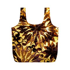 Mussels Lamp Star Pattern Full Print Recycle Bags (M)