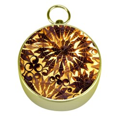 Mussels Lamp Star Pattern Gold Compasses