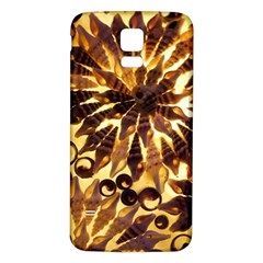 Mussels Lamp Star Pattern Samsung Galaxy S5 Back Case (white)
