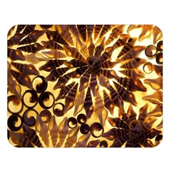 Mussels Lamp Star Pattern Double Sided Flano Blanket (Large)