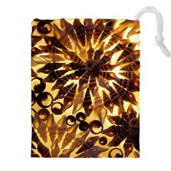 Mussels Lamp Star Pattern Drawstring Pouches (XXL)