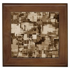 Color Abstract Background Textures Framed Tiles