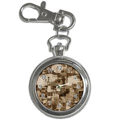 Color Abstract Background Textures Key Chain Watches