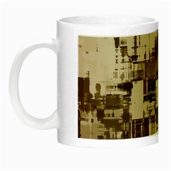 Color Abstract Background Textures Night Luminous Mugs