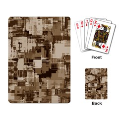 Color Abstract Background Textures Playing Card