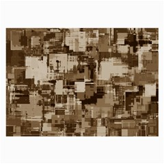 Color Abstract Background Textures Large Glasses Cloth (2 Side)