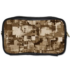 Color Abstract Background Textures Toiletries Bags 2 Side