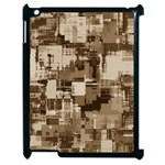 Color Abstract Background Textures Apple iPad 2 Case (Black) Front