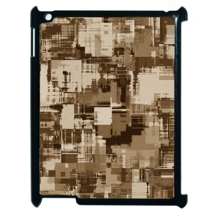 Color Abstract Background Textures Apple iPad 2 Case (Black)