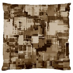 Color Abstract Background Textures Large Cushion Case (two Sides)