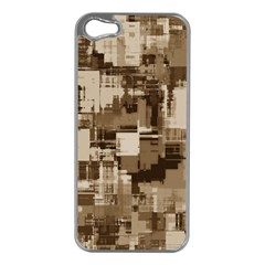 Color Abstract Background Textures Apple Iphone 5 Case (silver)