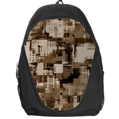 Color Abstract Background Textures Backpack Bag