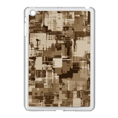 Color Abstract Background Textures Apple Ipad Mini Case (white)