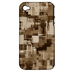 Color Abstract Background Textures Apple Iphone 4/4s Hardshell Case (pc+silicone)