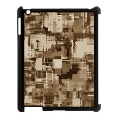 Color Abstract Background Textures Apple iPad 3/4 Case (Black)