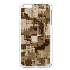 Color Abstract Background Textures Apple iPhone 6 Plus/6S Plus Enamel White Case