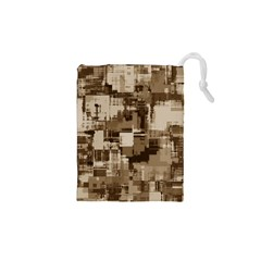 Color Abstract Background Textures Drawstring Pouches (xs)