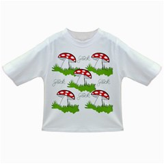 Mushroom Luck Fly Agaric Lucky Guy Infant/Toddler T-Shirts