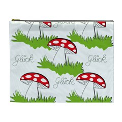 Mushroom Luck Fly Agaric Lucky Guy Cosmetic Bag (XL)