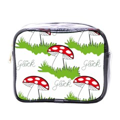 Mushroom Luck Fly Agaric Lucky Guy Mini Toiletries Bags