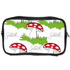 Mushroom Luck Fly Agaric Lucky Guy Toiletries Bags