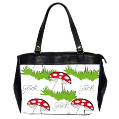 Mushroom Luck Fly Agaric Lucky Guy Office Handbags (2 Sides)