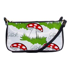 Mushroom Luck Fly Agaric Lucky Guy Shoulder Clutch Bags