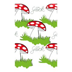 Mushroom Luck Fly Agaric Lucky Guy Shower Curtain 48  X 72  (small)