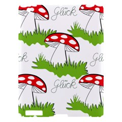 Mushroom Luck Fly Agaric Lucky Guy Apple Ipad 3/4 Hardshell Case