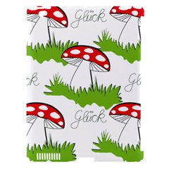 Mushroom Luck Fly Agaric Lucky Guy Apple iPad 3/4 Hardshell Case (Compatible with Smart Cover)