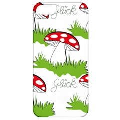 Mushroom Luck Fly Agaric Lucky Guy Apple iPhone 5 Classic Hardshell Case