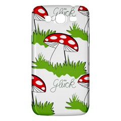Mushroom Luck Fly Agaric Lucky Guy Samsung Galaxy Mega 5 8 I9152 Hardshell Case