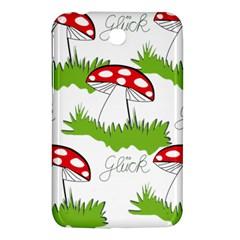 Mushroom Luck Fly Agaric Lucky Guy Samsung Galaxy Tab 3 (7 ) P3200 Hardshell Case