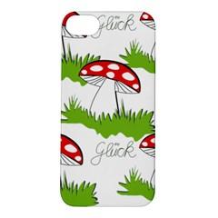 Mushroom Luck Fly Agaric Lucky Guy Apple iPhone 5S/ SE Hardshell Case