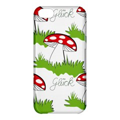 Mushroom Luck Fly Agaric Lucky Guy Apple Iphone 5c Hardshell Case