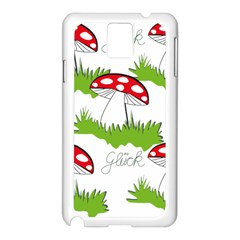 Mushroom Luck Fly Agaric Lucky Guy Samsung Galaxy Note 3 N9005 Case (white)