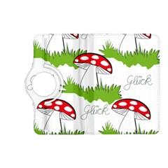 Mushroom Luck Fly Agaric Lucky Guy Kindle Fire HD (2013) Flip 360 Case