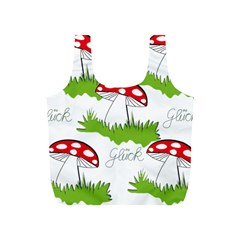 Mushroom Luck Fly Agaric Lucky Guy Full Print Recycle Bags (s)