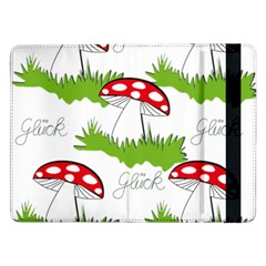 Mushroom Luck Fly Agaric Lucky Guy Samsung Galaxy Tab Pro 12 2  Flip Case