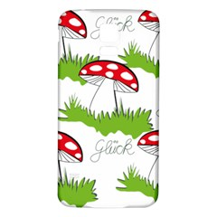 Mushroom Luck Fly Agaric Lucky Guy Samsung Galaxy S5 Back Case (White)
