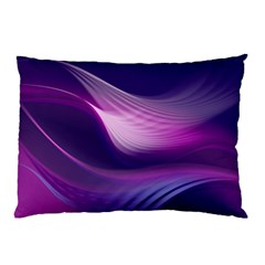 Abstract Purple1 Pillow Case (Two Sides)