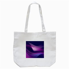 Abstract Purple1 Tote Bag (White)