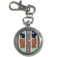 Pattern Symmetry Line Windows Key Chain Watches