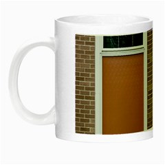 Pattern Symmetry Line Windows Night Luminous Mugs