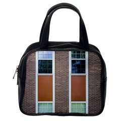 Pattern Symmetry Line Windows Classic Handbags (one Side)