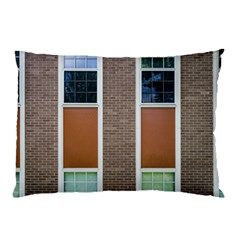 Pattern Symmetry Line Windows Pillow Case