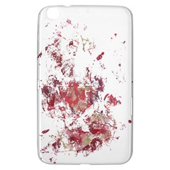Abstract Reds Samsung Galaxy Tab 3 (8 ) T3100 Hardshell Case