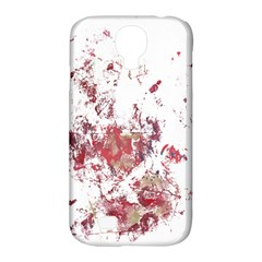 Abstract Reds Samsung Galaxy S4 Classic Hardshell Case (PC+Silicone)