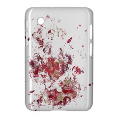 Abstract Reds Samsung Galaxy Tab 2 (7 ) P3100 Hardshell Case